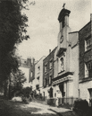 LONDON. Holly place, a quiet by- way on the side of Hampstead Hill 1926 print